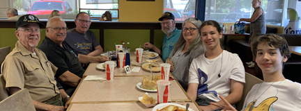 6August2019 Lunch group